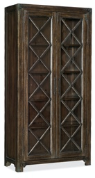 [1618-75906A-DKW] Roslyn County Bunching Display Cabinet