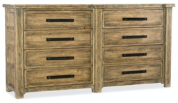 [1618-90002-MWD] Roslyn County Eight-Drawer Dresser