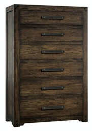 [1618-90010-DKW] Roslyn County Six-Drawer Chest