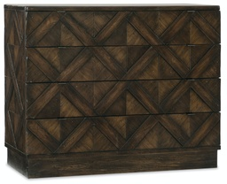 [1618-90017-DKW] Roslyn County Four-Drawer Bachelors Chest