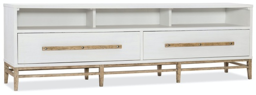 [1620-55488-WH] Urban Elevation Low Entertainment Console