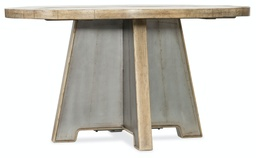 [1620-75213-LTBR] Urban Elevation Metal Dining Table