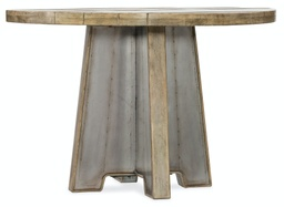 [1620-75213A-LTBR] Urban Elevation Metal Dining Table