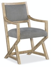 [1620-75600-LTBR] Urban Elevation Upholstered Arm Chair