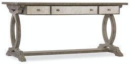 [1641-10459-LTWD] Rustic Glam Trestle Desk
