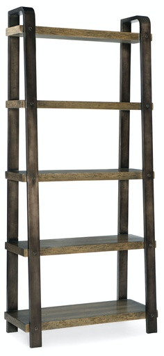 [1654-10445-MTL] Crafted Bookcase