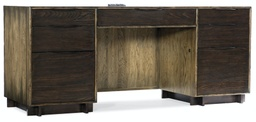 [1654-10464-DKW1] Crafted Computer Credenza