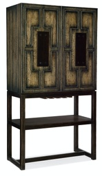 [1654-75260-DKW1] Crafted Bar Cabinet