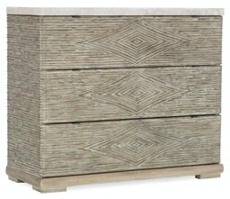 [1672-85004-00] Amani Three-Drawer Accent Chest