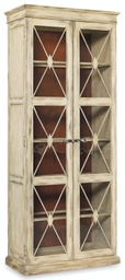 [3002-50002] Sanctuary Two-Door Thin Display Cabinet