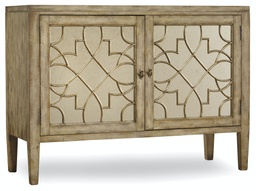 [3013-85002] Sanctuary Two-Door Mirrored Console