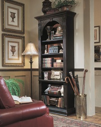[500-50-385] Black Bookcase
