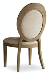 [5180-75412] Corsica Oval Back Side Chair