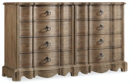 [5180-90002] Corsica Eight Drawer Dresser