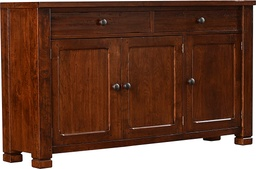 [LRCON56100] American Rustic TV Console – Flush Top