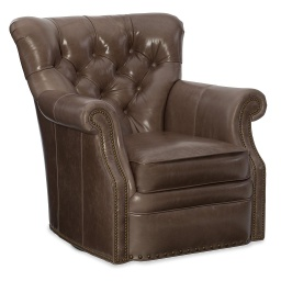 Kirby Swivel Tub Chair Eight-Way Tie
